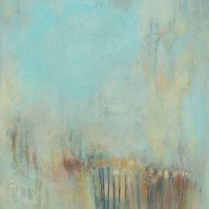ציור לבית, אבסטרקט, ברושים