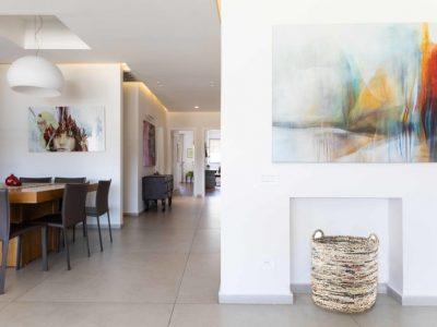 הציור השתקפויות בסלון, ציור מקורי בהתאמה אישית